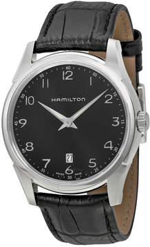 Hamilton Jazzmaster Thinline Black Dial Men's Watch