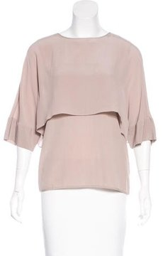 DAY Birger et Mikkelsen Silk Short Sleeve Top