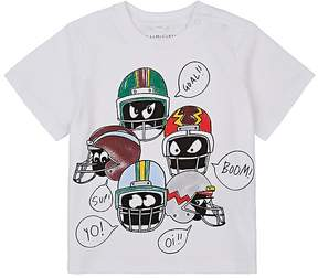 Stella McCartney Infants' Football-Helmet-Print Cotton T-Shirt
