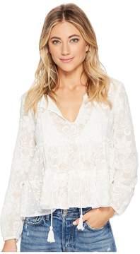 BB Dakota Isobel Embroidered Top Women's Clothing