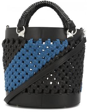 Sonia Rykiel braided bucket shoulder bag
