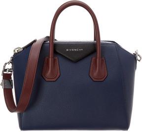 Givenchy Antigona Small Tricolor Leather Satchel
