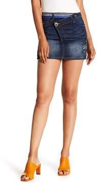 Desigual Asymmetrical Denim Skirt
