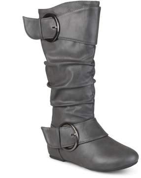 Journee Collection Journee Girls' Buckle Boots