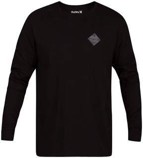 Hurley Men's Glyphs Long Sleeve T-Shirt