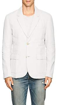 James Perse MEN'S LINEN DOWN TWO-BUTTON SPORTCOAT