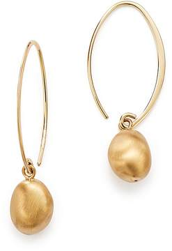 Bloomingdale's 14K Yellow Gold Satin Drop Threader Earrings - 100% Exclusive