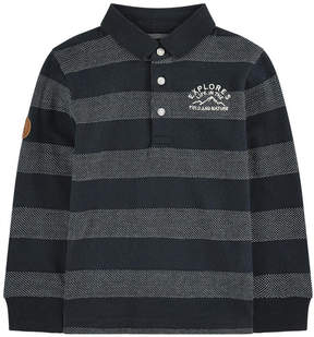 Mayoral Striped polo