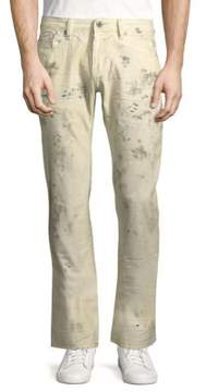Cult of Individuality Cotton Slim Straight Leg Jeans