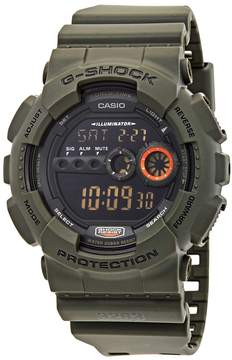 Casio G-Shock Black Resin Shock Resistant Dive Men's Watch