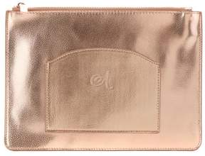 Danielle Nicole Leather Monogrammed Pouch