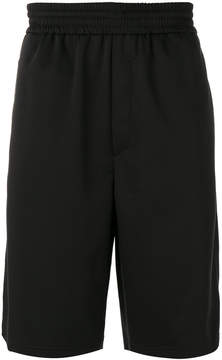 Neil Barrett elasticated waistband track shorts