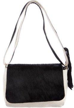 Clare V. Ponyhair & Leather Crossbody Bag