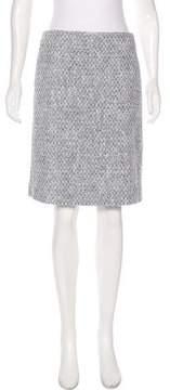Brooks Brothers Tweed Knee-Length Skirt