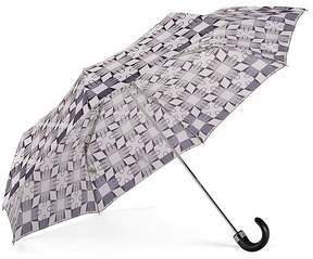 Aspinal of London Ladies Marylebone Compact Umbrella In Monochrome