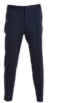 Paolo Pecora Men's Blue Cotton Pants.