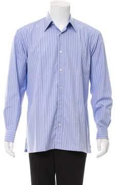 Charvet Striped Button-Up Shirt