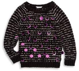 Little Marc Jacobs Toddler's, Little Girl's and Girl's Large Sequins Sweater
