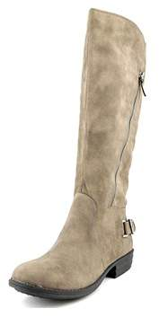 American Rag Asher Women Round Toe Synthetic Gray Knee High Boot.