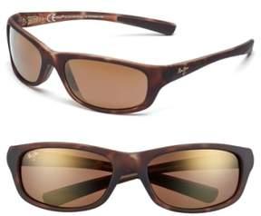 Maui Jim Men's 'Kipahulu - Polarizedplus2' 59Mm Sunglasses - Matte Tortoise Bronze