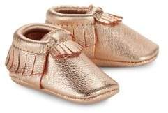 Freshly Picked Baby's Signature Core Leather Cutout Moccasins