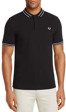 Fred Perry Tramline Tipped Piqué Regular Fit Polo Shirt