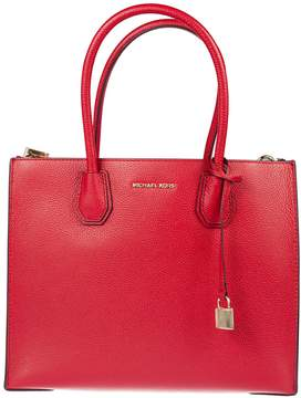Michael Kors Mercer Large Grained Tote Bag - BRIGHT RED - STYLE