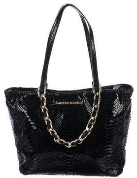 MICHAEL Michael Kors Small Embossed Chain-Link Tote