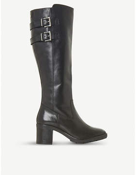 Dune Trader leather knee-high boots