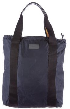 Paul Smith Leather-Trimmed Tote Backpack