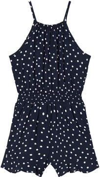 Bardot Junior Navy Spotted Romper