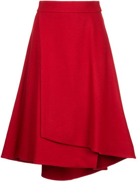 ESTNATION flared wrap skirt