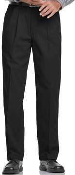 Lee Big & Tall Stain Resist Classic-Fit Pleated Pants