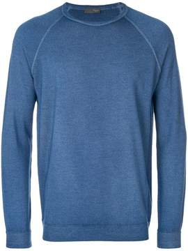 Drumohr classic fitted sweater