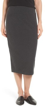 Eileen Fisher Women's Cozy Jersey Pencil Skirt