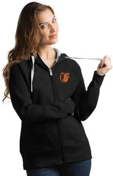 Antigua Women's Baltimore Orioles Victory Full-Zip Hoodie
