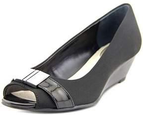 Alfani Chorde Women Open Toe Canvas Wedge Heel.