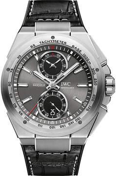 IWC IW378507 ingenieur leather watch