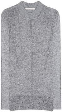 Christopher Kane Metallic knitted sweater