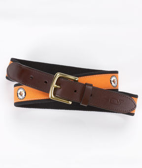 Vineyard Vines Baltimore Orioles Canvas Club Belt