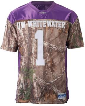 NCAA Men's UW-Whitewater Warhawks Game Day Realtree Camo Jersey