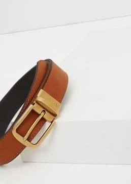 Mango Outlet Leather reversible belt
