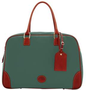 Dooney & Bourke Nylon Bowler Duffle Bag - SAGE - STYLE