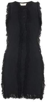 Edun Fringed-edge mini dress