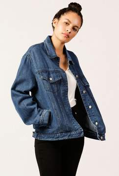 Azalea Denim Jacket With Back Laces