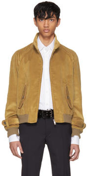 Prada Tan Corduroy Jacket