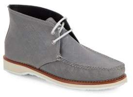 Eastland Checked Lace-Up Chukka Boots