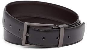 Steve Madden Smooth Reversible Leather Belt
