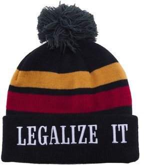 Palm Angels 'legalize It' Beanie