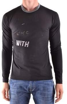 CNC Costume National Men's Black Cotton T-shirt.